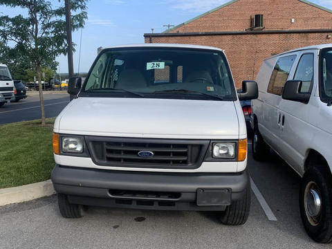 2005 Ford E-250 Cargo Van with 24,349 miles